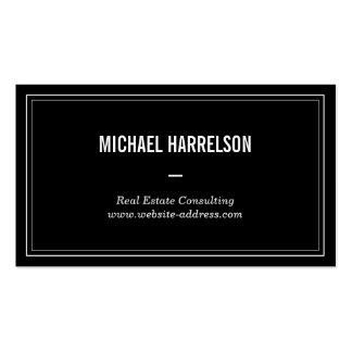 Vintage Professional No. 1 Business Card