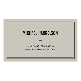 Vintage Professional No. 3 Business Card