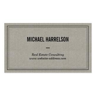 Vintage Professional No. 4 Business Card