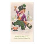 Vintage Prohibition Champagne Bartender Business Cards