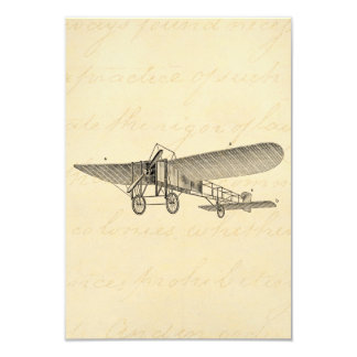 Vintage Propeller Airplane Retro Old Prop Plane Card