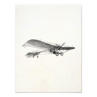 Vintage Propeller Airplane Retro Old Prop Plane Photo Print