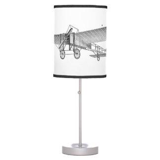 Vintage Propeller Airplane Retro Old Prop Plane Table Lamp