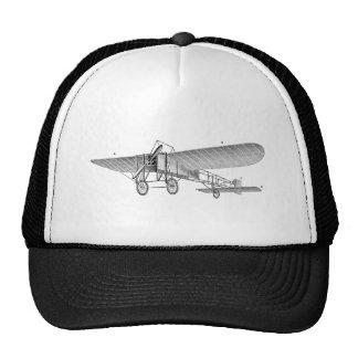 Vintage Propeller Airplane Retro Old Prop Plane Trucker Hat