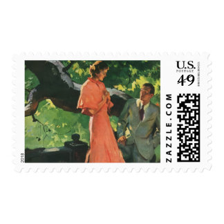 Vintage Proposal; Will You Marry Me? Postage