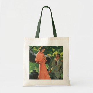 Vintage Proposal; Will You Marry Me? Tote Bag