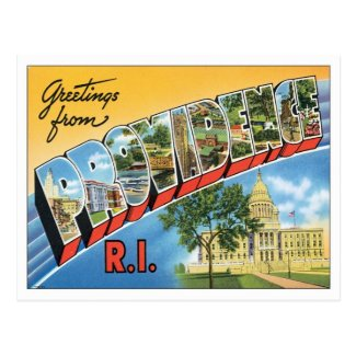 Vintage Providence Rhode Island Postcards