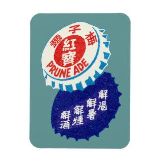 Vintage Prune Juice Rectangle Magnet