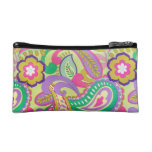 Vintage Psychdelic Pattern Texture Cosmetic Bag
