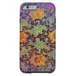 Vintage Psychedelic Wallpaper Floral Pattern iPhone 6 Case