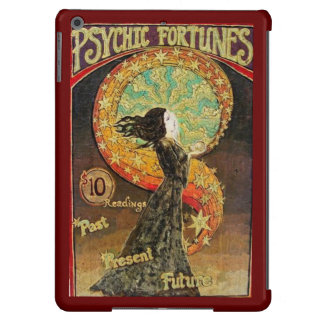 Vintage Psychic Fortunes Carnival Poster Cover For iPad Air