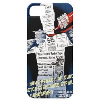 Vintage Public Health Poster Case-Mate Case iPhone 5 Covers