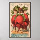 Vintage: publicidad de la agricultura - impresiones