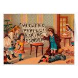 Vintage: publicidad de la hornada - tarjetón
