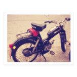 Vintage Puch MV 50 Bike Postcards