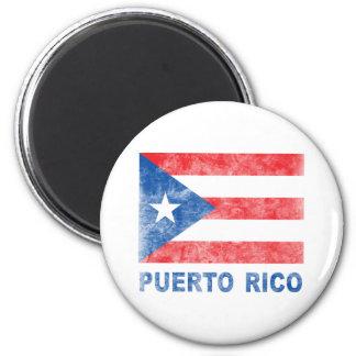 Vintage Puerto Rico Iman De Frigorífico