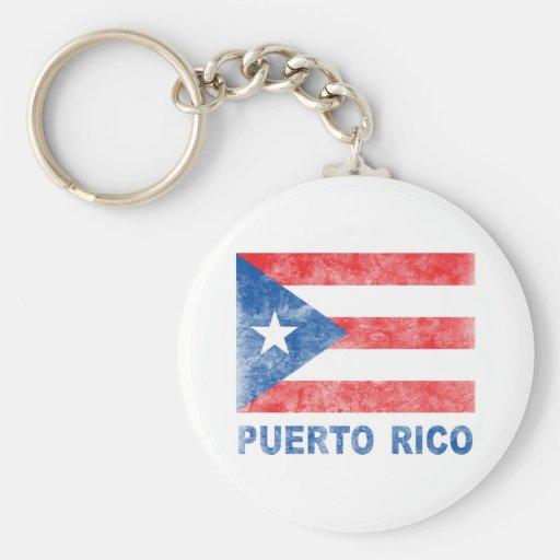 Vintage Puerto Rico Key Chain