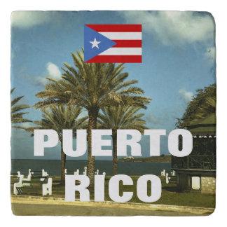 Vintage Puerto Rico Photography Trivet