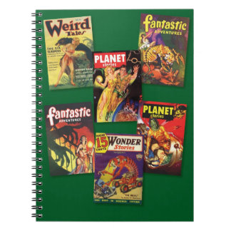 Vintage Pulp Covers Notebook