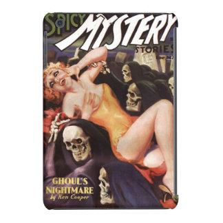 Vintage pulp magazine cover Spicy Mystery Stories iPad Mini Retina Cases