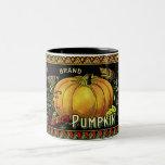 Vintage Pumpkin Print Mug