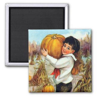 Vintage Pumpkins Magnet