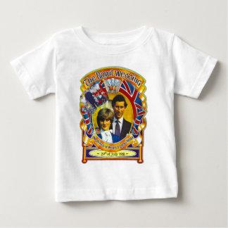 Vintage Punk  80'sroyal wedding Charles and Di Baby T-Shirt
