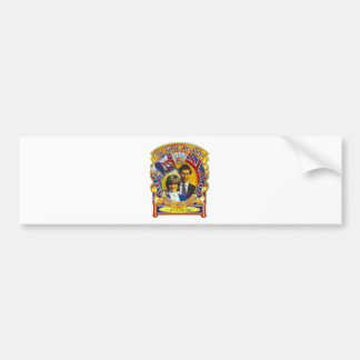 Vintage Punk  80'sroyal wedding Charles and Di Bumper Sticker