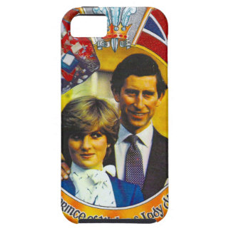 Vintage Punk  80'sroyal wedding Charles and Di iPhone 5 Case