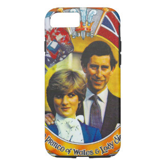 Vintage Punk 80'sroyal wedding Charles and Di iPhone 8/7 Case