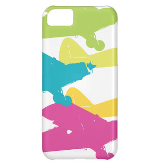 Vintage Punk Airplanes Prop Plane Design Cover For iPhone 5C