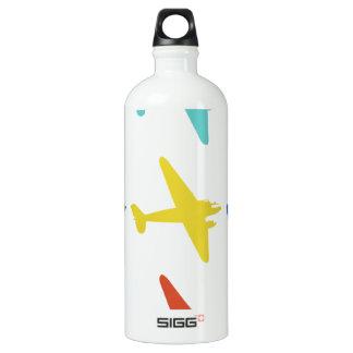 Vintage Punk Retro Airplane Pattern SIGG Traveler 1.0L Water Bottle