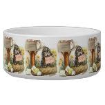 Vintage Puppy Art Mailbox Puppy Dog Water Bowls