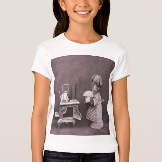 Vintage Puppy Baking T-Shirt