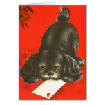 Vintage Puppy Cards
