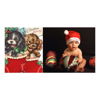 vintage puppy dogs photo cards