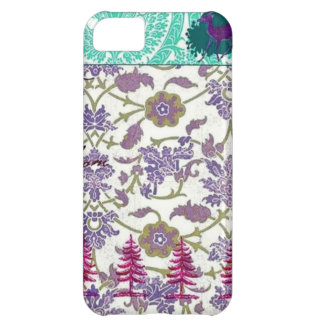 Vintage Purple and Green iPhone Case iPhone 5C Cover