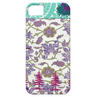 Vintage Purple and Green iPhone Case iPhone 5 Cases