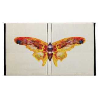Vintage Purple and Yellow Butterfly iPad 3 Case iPad Case