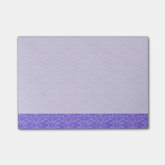 Vintage Purple Awareness Floral Post-it Notes