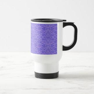 Vintage Purple Awareness Floral Travel Mug