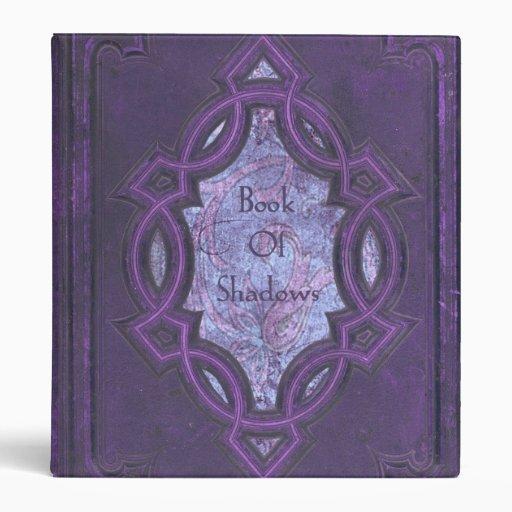 Vintage Purple Book of Shadows Binder