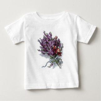 Vintage Purple Bouquet Baby T-Shirt