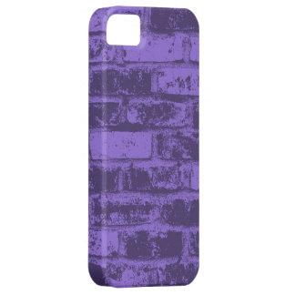 Vintage Purple Brick Wall iPhone 5 Covers