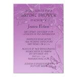 Vintage Purple Butterfly Bridal Shower Invitation Invitations