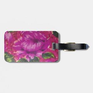 Vintage Purple Floral Pattern