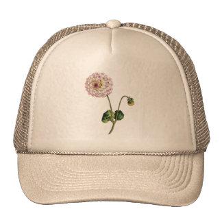 Vintage Purple Flower Ilustration Trucker Hat