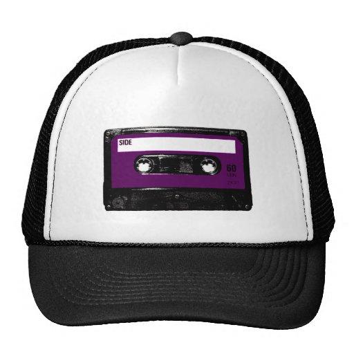 Vintage Purple Label Cassette Trucker Hat