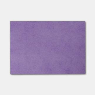 Vintage Purple Paper Parchment Background Template Post-it Notes