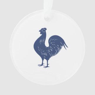 Vintage Purple Rooster